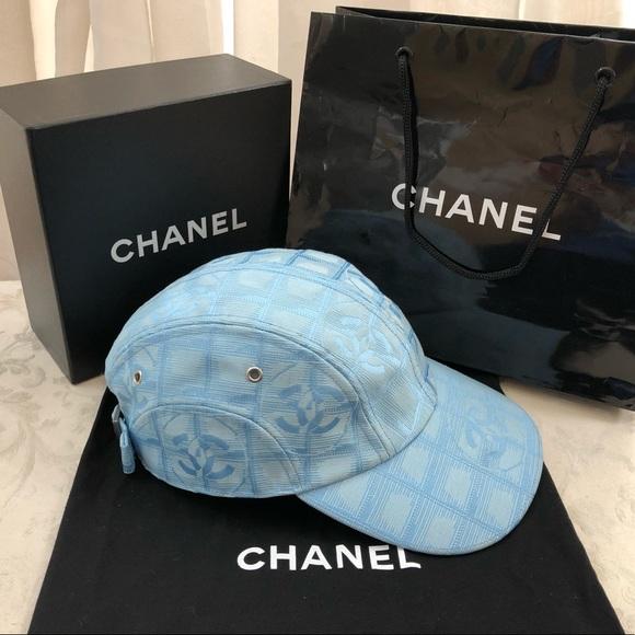 "e9d4a0c5f 🆕 Chanel CC"" New Travel Line"" Baseball Cap 🧢"